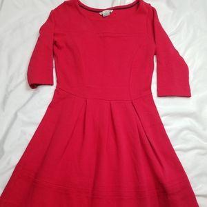 Boden Red A line dress 4r